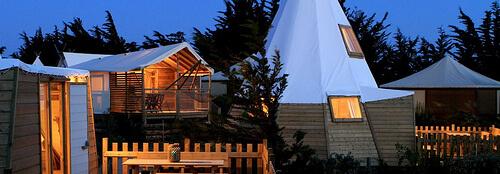 Le bois inspire les hôtels aussi !