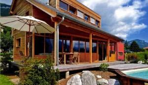 maison bois Rhône-Alpes Belledonne 38