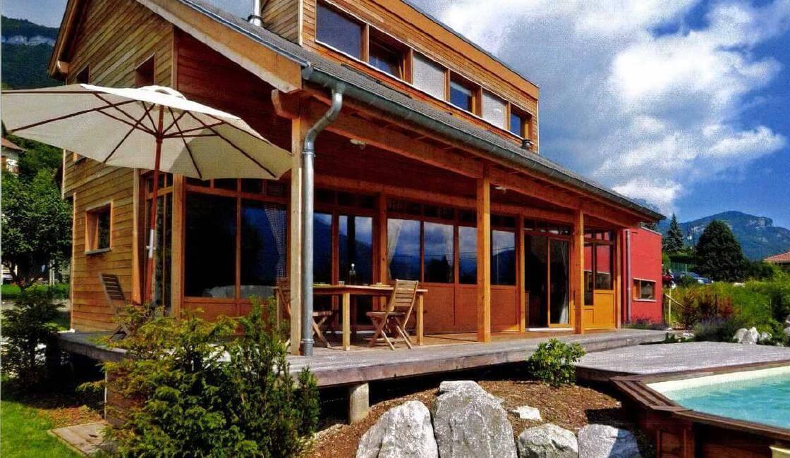 Maison en bois, étude de cas