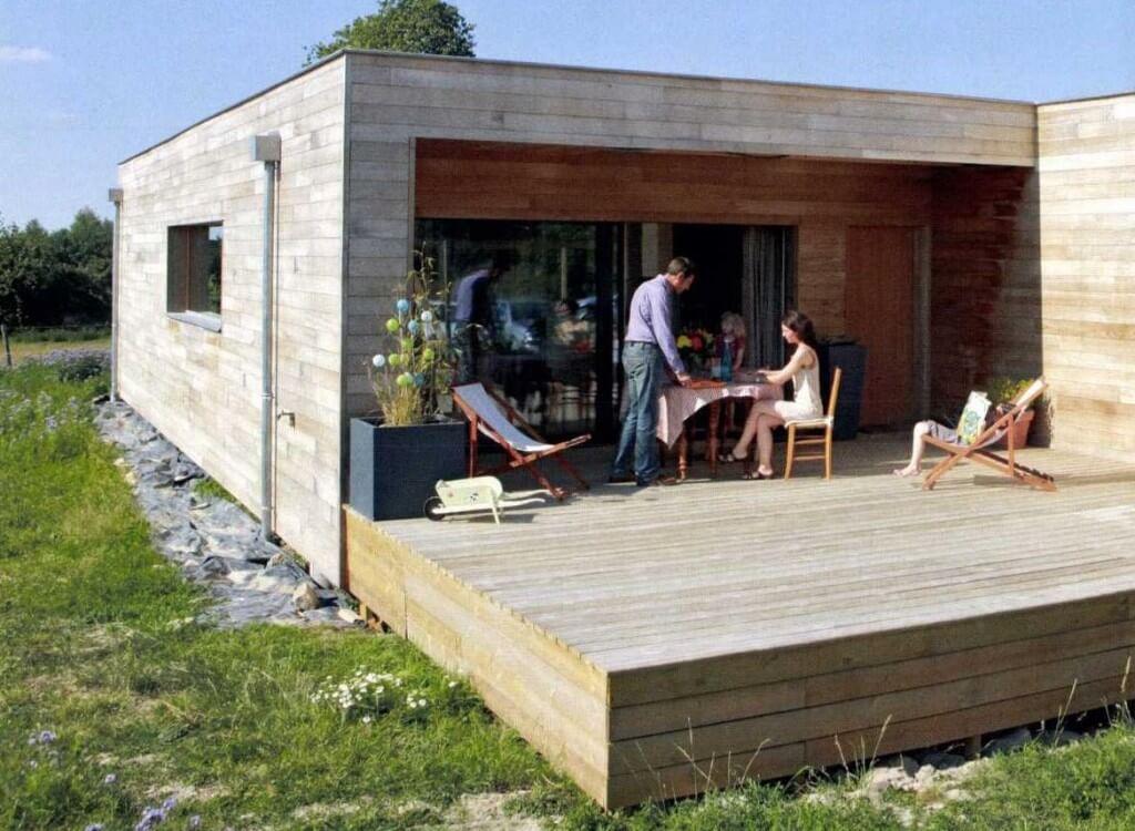maison bois passive