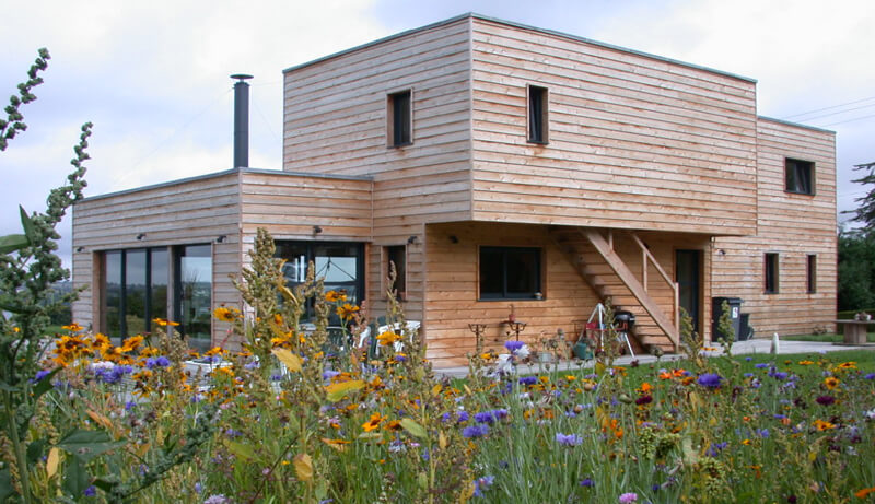 Maison en bois : bâtir écologique !