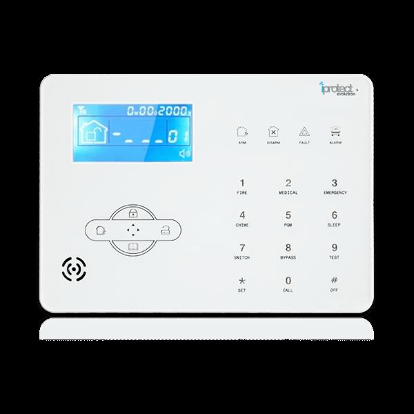 Systme alarme maison accessoires pour alarme les for Alarme maison sans fil castorama