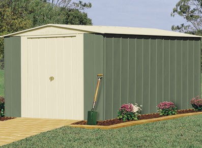 Abri jardin metallique devis maison bois et maison bois - Abri metallique en kit ...