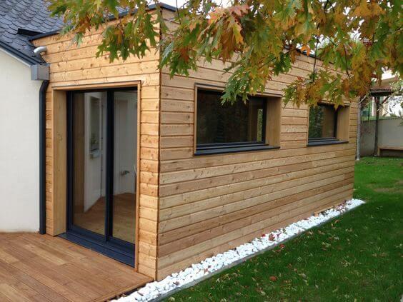 Structures Et Murs Porteurs De Maison En Bois