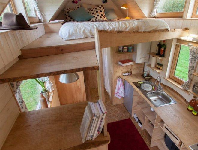 Tiny House: vue d'intériueur