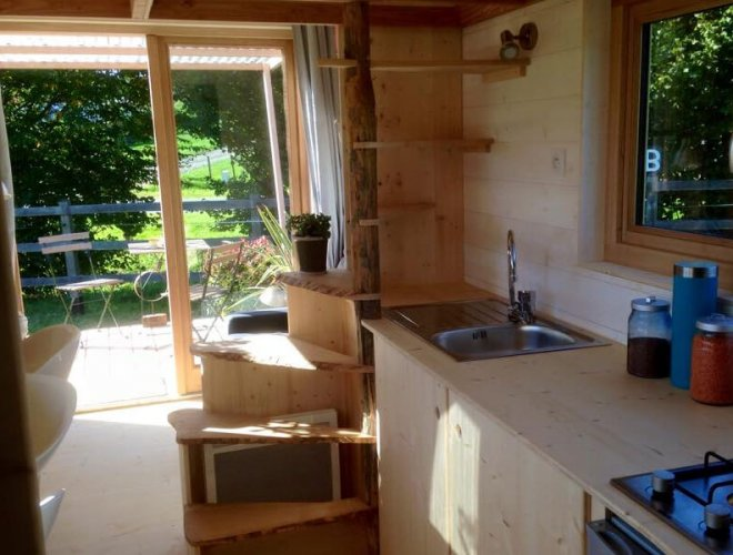 Tiny House: cuisine