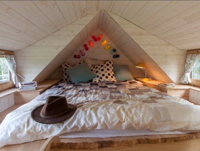 Tiny House: cabre à coucher