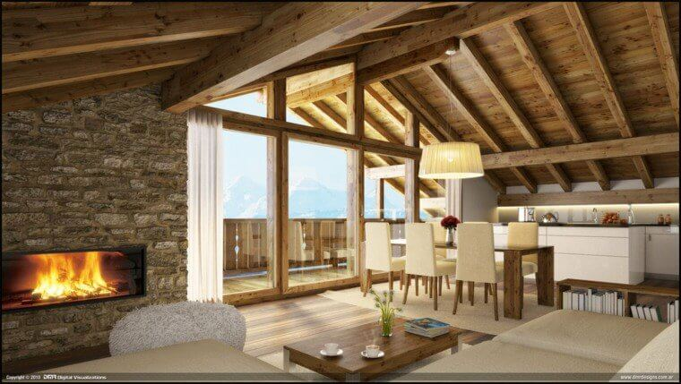amenagement-interieur-maison-bois