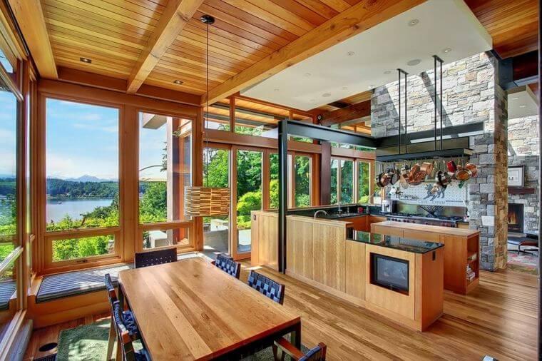 cuisine-maison-bois-moderne