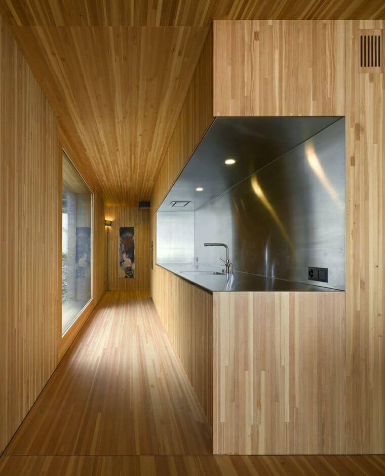 Int rieur maison bois quel type de bois choisir for Deco interieur en bois
