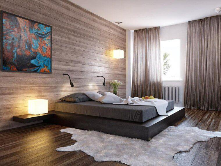 deco-maison-contemporaine-chambre-bois