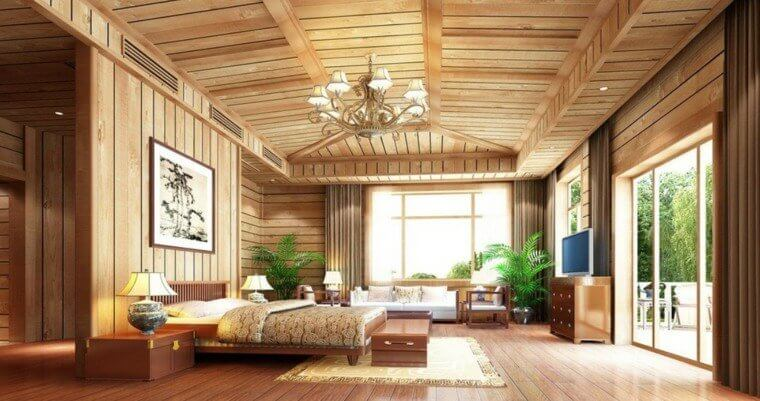 int rieur maison bois quel type de bois choisir. Black Bedroom Furniture Sets. Home Design Ideas
