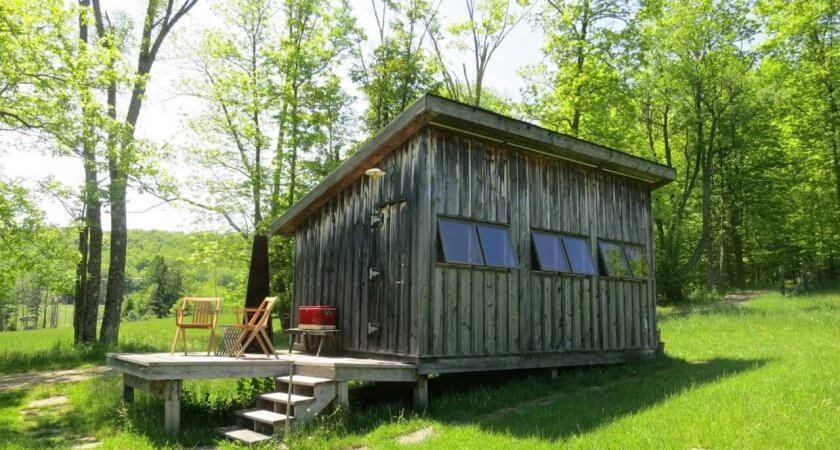 Chalet en bois habitable à petit prix