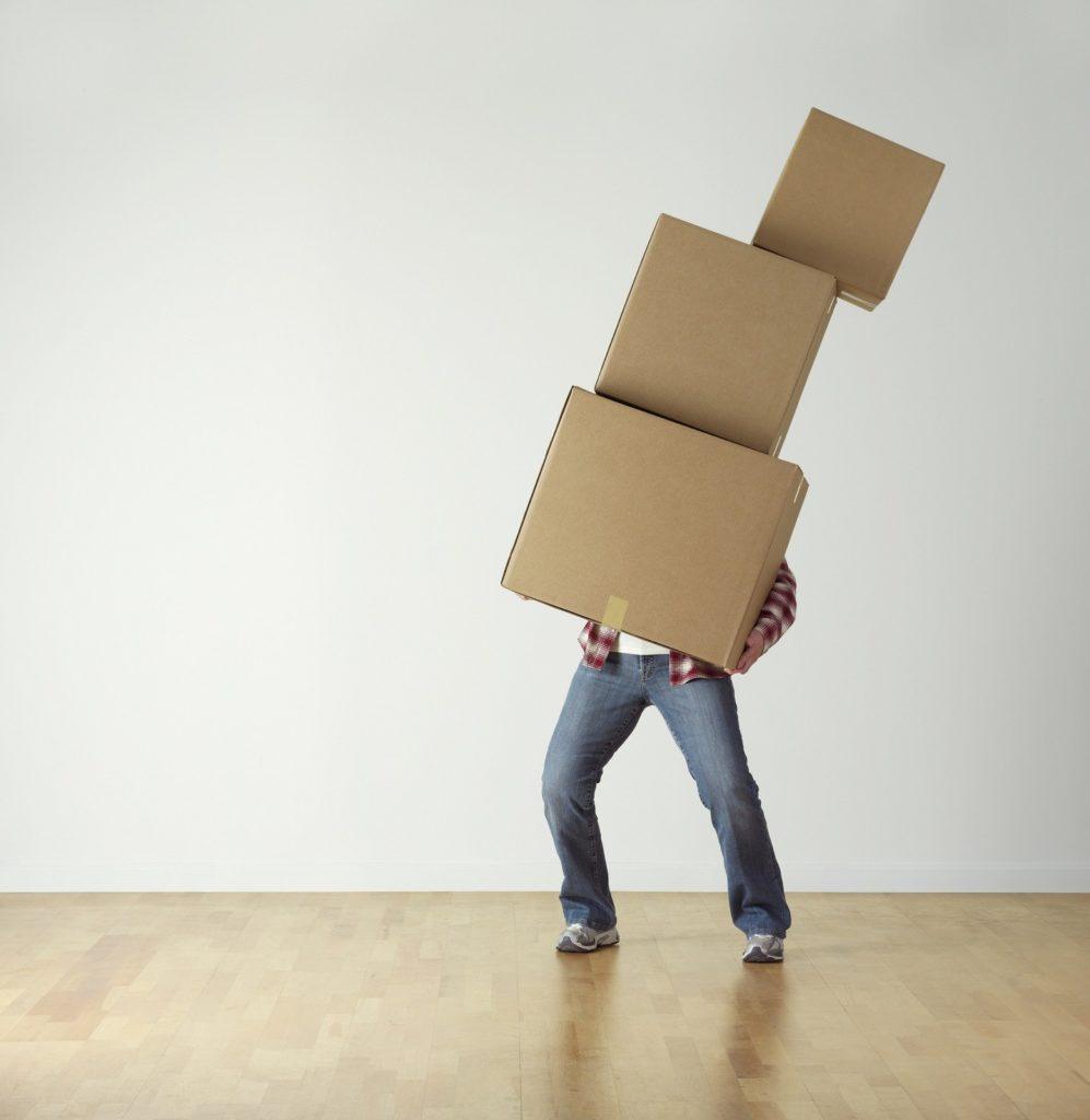 transport des objets de porte à porte