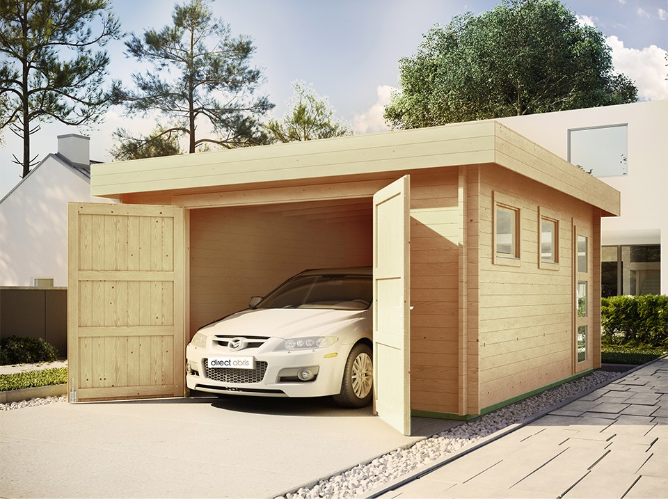 Pourquoi choisir un garage bois en kit?